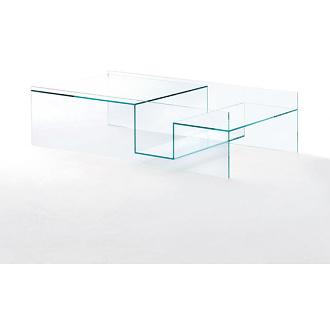 Piero Lissoni Labyrinth Low Glass Tables