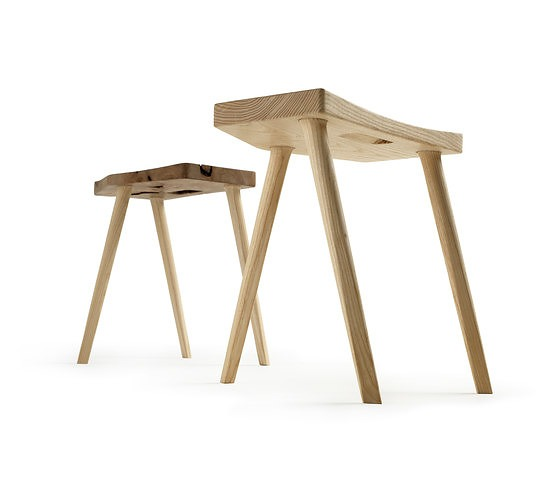 Piero Lissoni Malga Stool