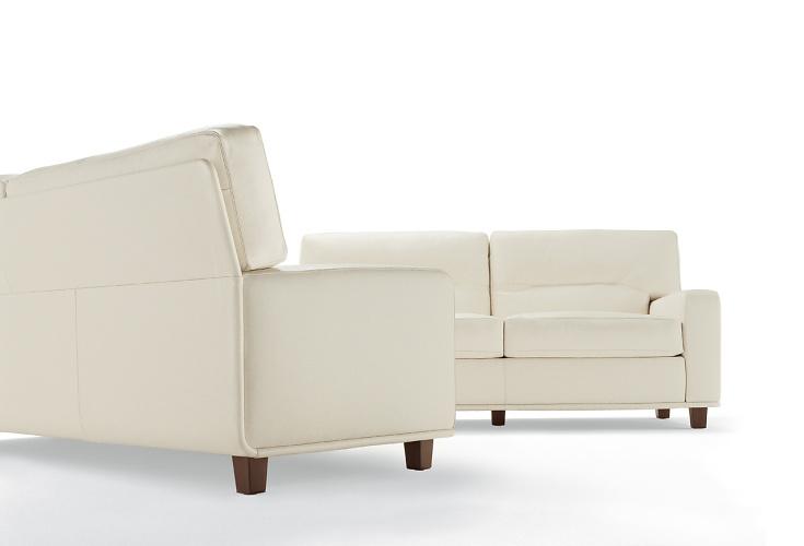 Poltrona Frau Salome Sofa and Armchair