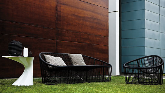 Prospero Rasulo Club Outdoor Armchair and Sofa