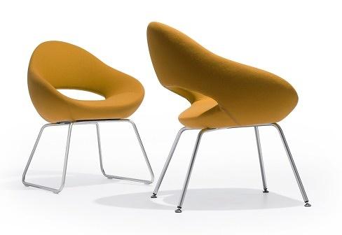 René Holten Shark Chair With Sleds