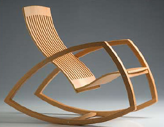 Reno Bonzon Gaivota Rocking Chair