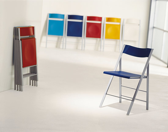 Robby Cantarutti and Francesca Petricich Pocket Folding Chair
