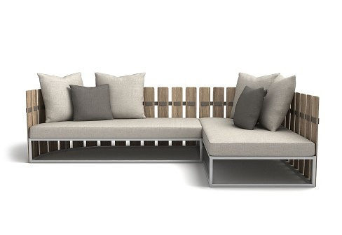 Rodolfo Dordoni Fence Outdoor Sofa