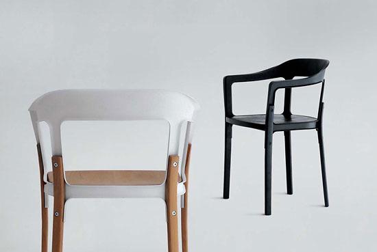 ronan and erwan bouroullec steelwood chair