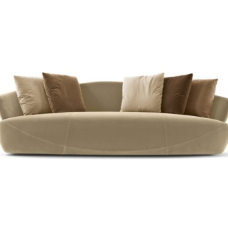 Rossella Pugliatti Solemyidae Sofa With Stool