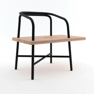 Sam Hecht and Industrial Facility Table, Bench, Chair
