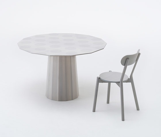 Scholten & Baijings Colour Wood Table Collection