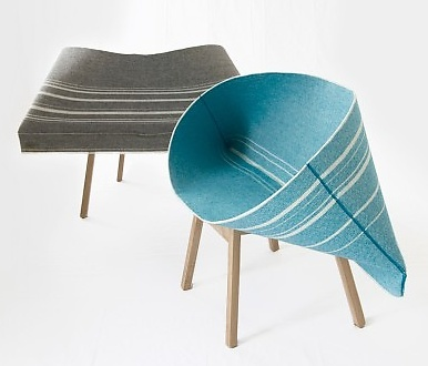 Shay Alkalay and Yael Mer Kenny Armchair