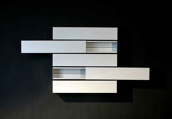Shigeru Uchida Horizontals A-line Shelving
