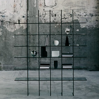 Shiro Kuramata Glass Shelves No.1