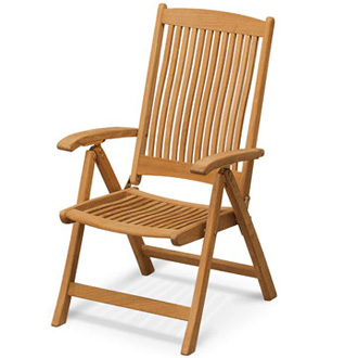 Skagerak Denmark Columbus Adjustable Chair