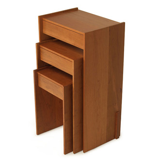 Skram Piedmont 1-drawer Nesting Side Tables