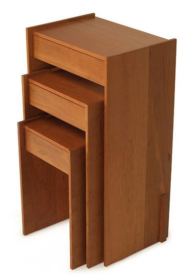 Skram Piedmont 1 Drawer Nesting Side Tables