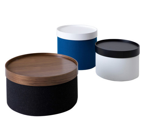 Softline Drum Pouf & Table