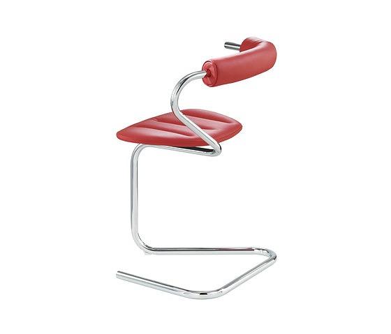 Stefan Wewerka B5 Single Tube Cantilever Chair