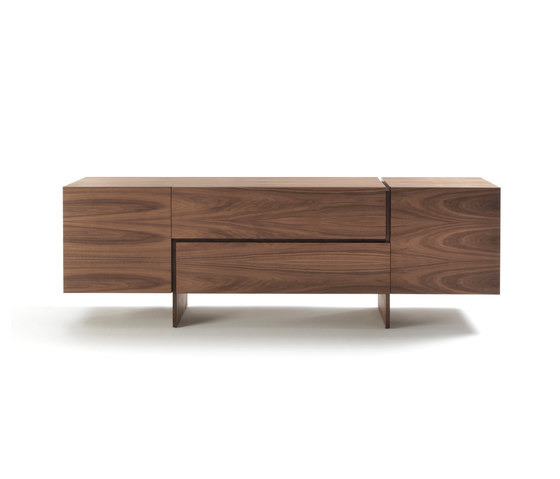 Studio bartoli aki storage unit for Sofa exterior aki