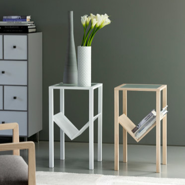 T. Colzani Step Side Table