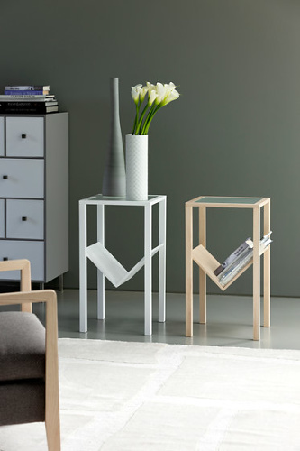 T. Colzani Step Side Table