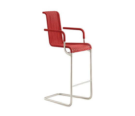 TECTA D30 Bar Chair With Armrests