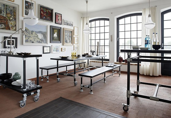 Uwe Van Afferden Industrie Furniture Collection