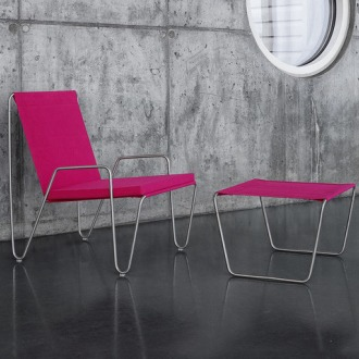 Verner Panton Bachelor Low Stool