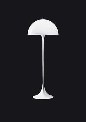Verner Panton Panthella Floor And Table Lamp
