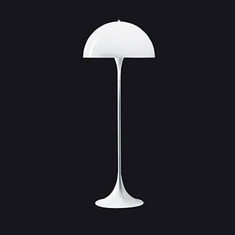Verner Panton Panthella Floor And Table Lamp