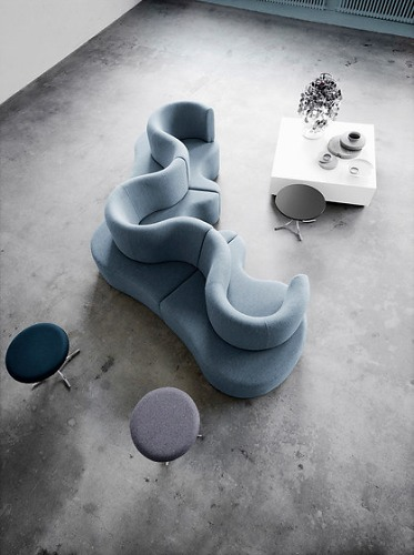 Verner Panton Cloverleaf Sofa