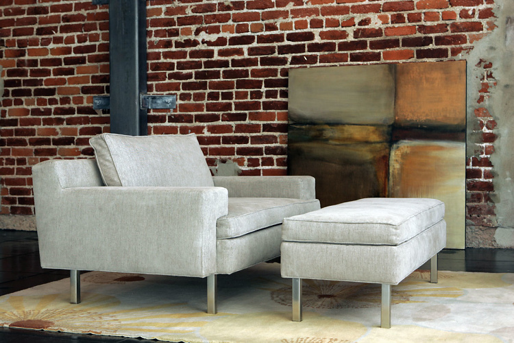Vioski Michael Chair And Ottoman