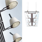 Antonio Citterio and Glen Oliver Löw Lastra Lamp