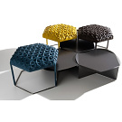 Atelier Oï Hive Ottoman and Table