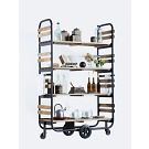 Dialma Brown Db002931 Shelving Unit