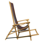 Enrico Tonucci Sedialunga Folding Chair