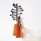 Lievore Altherr Molina Song Wall Mounted Coat Hanger