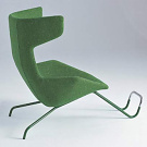 Alfredo H&auml;berli Take a line for a walk chair