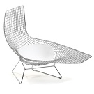 Bertoia Asymmetric Chaise