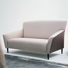 Carles Riart Salvador Sofa and Low Stool