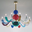 Gio Ponti Collezione 99.80 Multicolore Wall and Pendant Lamps