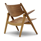 Hans J. Wegner CH28 Sawhorse Easychair
