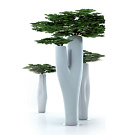 Jean-Marie Massaud Missed Tree Flower Pot