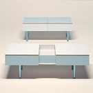 Konstantin Grcic Kastor Coffee Table