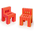 Sharon Tarantino and Lawrence Tarantino Eva Foam Chairs