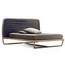 Vincenzo De Cotiis Buonanotte Valentina Leather Bed